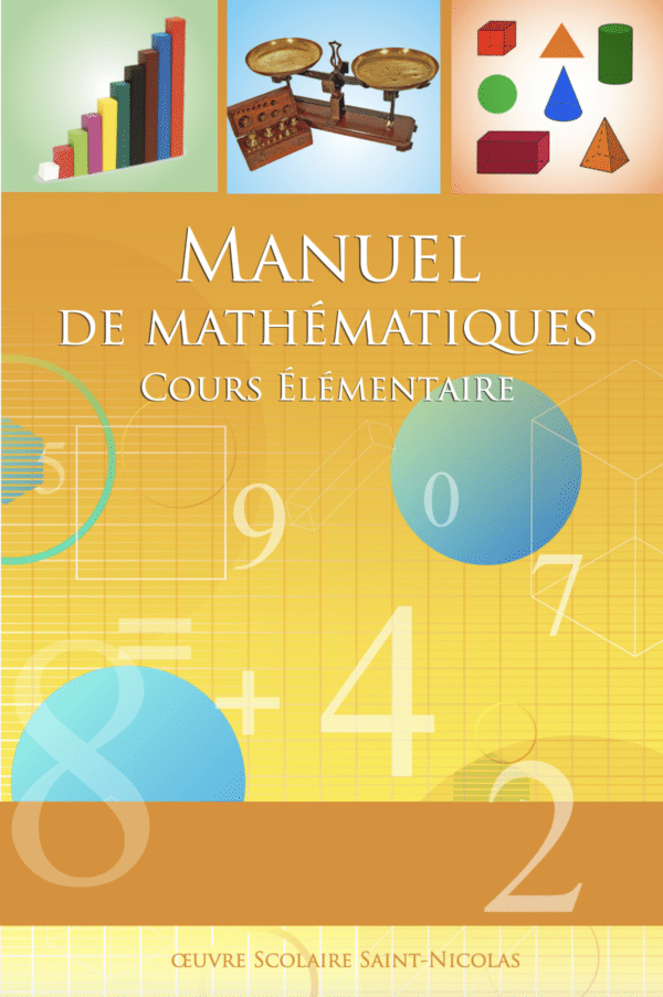 Couverture manuel maths