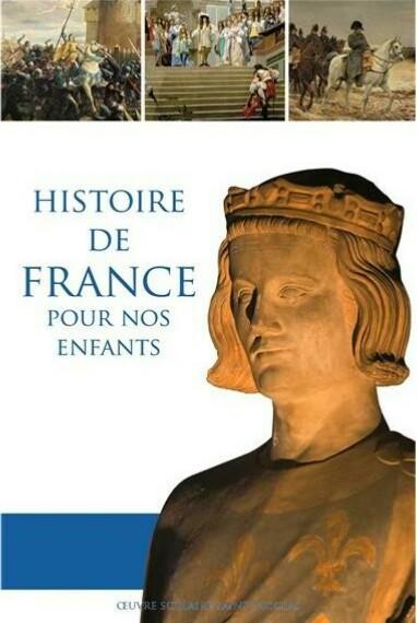 Couverture histoire de France enfants