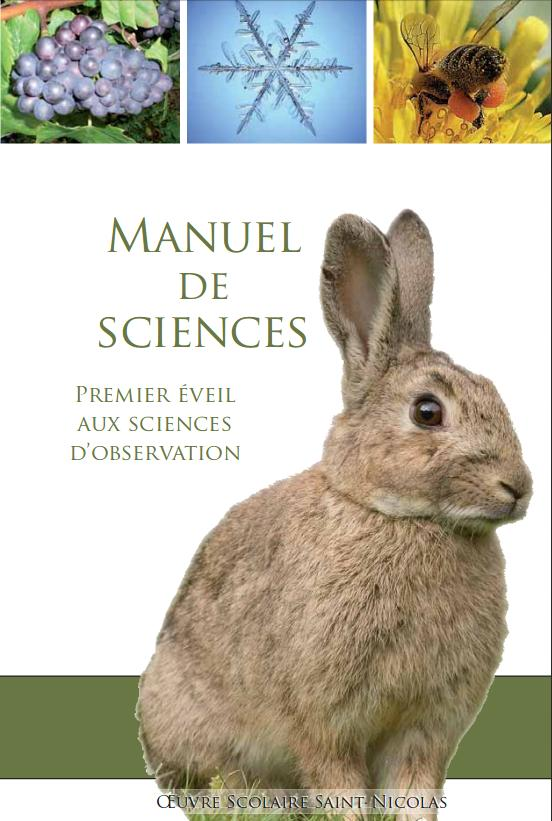 Couverture manuel sciences