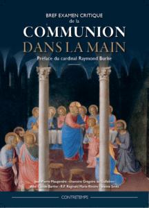 couverture du livre sur la critique de la communion à la main